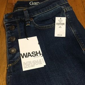 Gap 28r Authentic Flare High Rise Stretch